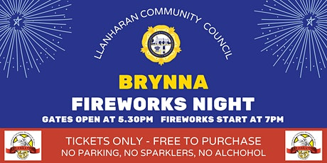 LCC Fireworks Event - Brynna Community Centre tickets