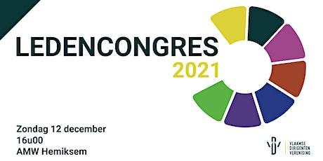 Ledencongres 2021 tickets