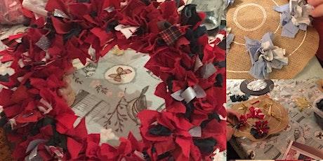 Christmas Rag Rug Wreath Workshop tickets