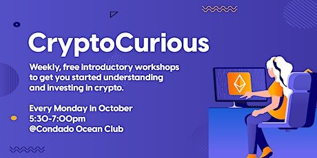 CryptoCurious-ONLINE tickets