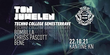 Tonjuwelen - Techno College Semesterrave Tickets