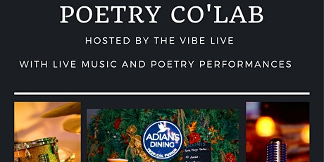 Copy of Poetry Co'lab at Adian's Dining Restaurant tickets