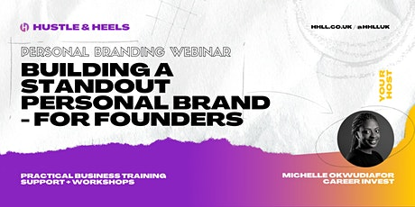 Building A Standout Personal Brand - For Founders tickets