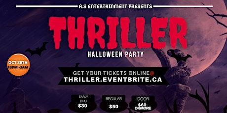 THRILLER (HALLOWEEN PARTY) tickets