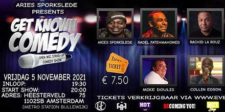 GET KNOWN COMEDY| NOVEMBER tickets
