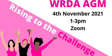 WRDA Annual General Meeting 2021 tickets