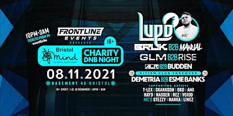 Frontline Presents: Bristol Mind Charity DnB Night tickets