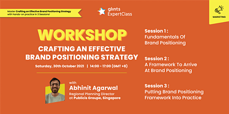 Workshop - Crafting an Effective Brand Positioning Strategy tickets