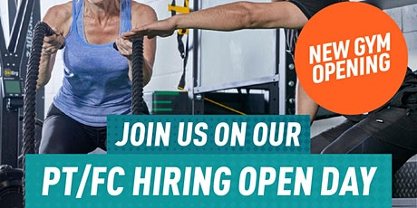 Personal Trainer/Fitness Coach Hiring Day - New Open Shoreditch Exchange tickets