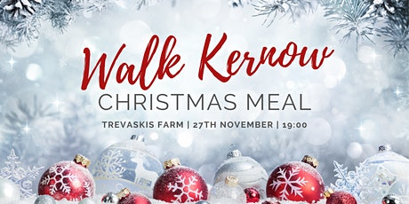 Walk Kernow Christmas Meal tickets