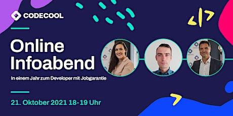 Infoabend - In einem Jahr zum Developer mit Jobgarantie (online) Tickets