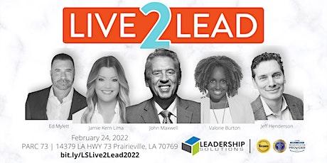 Leadership Solutions Live2Lead 2022 - Sponsorship tickets