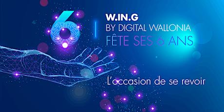 W.IN.G by Digital Wallonia fête ses 6 ans billets
