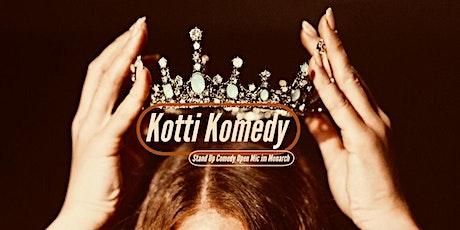 Kotti Komedy(2G Veranstaltung) Tickets
