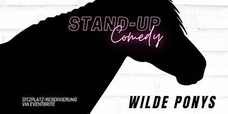 Stand-up Comedy • F-Hain • 20 Uhr | WILDE PONYS - DER GROSSE AUSRITT Tickets