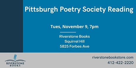 Pittsburgh Poetry Society Reading tickets