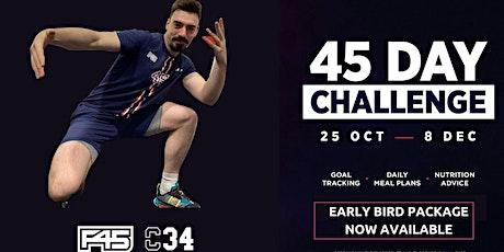 F45 Blackhorse Lane 45 day Challenge info session tickets