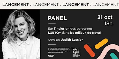 Panel sur l'inclusion des personnes LGBTQ+ dans les milieux de travail billets