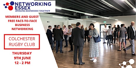 (FREE) Networking Essex Colchester Thursday 9th June 12pm-2pm tickets