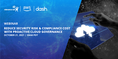 Reduce Security Risk & Compliance Cost with Proactive Cloud Governance tickets