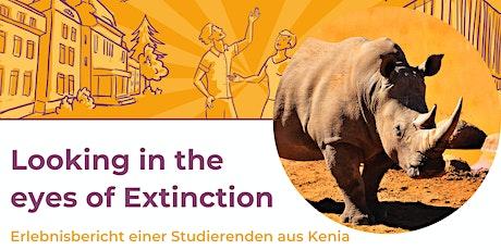 """BOKU Nachhaltigkeitstag: """"Looking in the eyes of extinction"""" Tickets"""