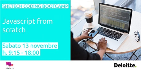 SheTech Coding Bootcamp: Javascript biglietti