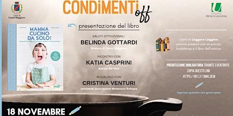 MAMMA CUCINO DA SOLO_Presentazione libro biglietti
