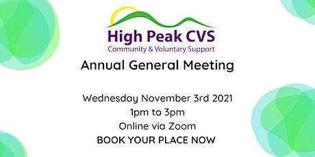 High Peak CVS Annual General Meeting tickets