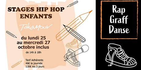 Stage enfants (Hip Hop) billets