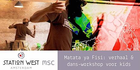 Herfstvakantie Theater: Matata ya Fisi, Afrikaans verhaal en dans voor kids tickets