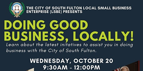 City of South Fulton Local Small Business Event tickets