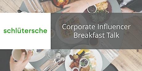 Corporate Influencer Breakfast Talk biglietti