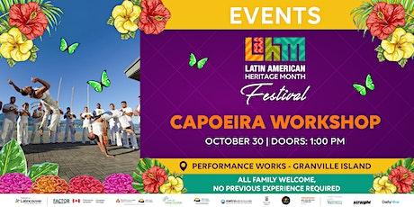 Capoeira Workshop tickets