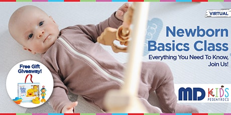 Free Newborn Basics Virtual Class with Lori Cashimere, PNP tickets