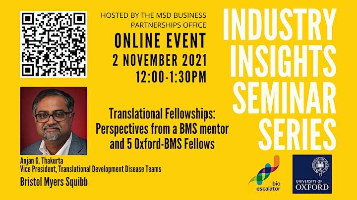 Industry Insights Seminar Series image