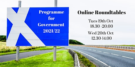 Programme for Government - Online Roundtable tickets
