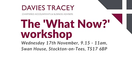 What now? A business workshop to looking to 2022 & post-pandemic funding. tickets