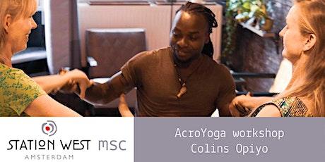 Herfstvakantie Workshop Acroyoga: voel je vrij door lichaamsbeheersing! tickets