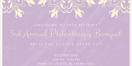 GMU Sigma Psi Zeta Presents: Break the Silence, Speak Out tickets