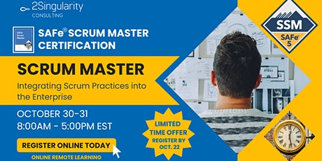 SAFe® Scrum Master tickets