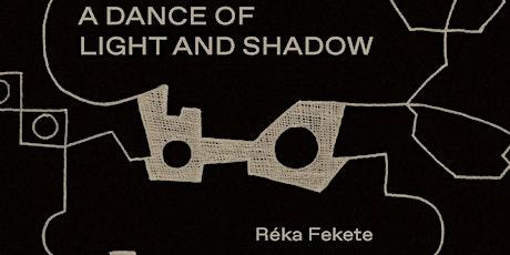 Boekpresentatie//Book launch//A dance of light and schadow – Réka Fekete tickets