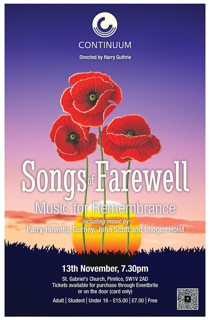Continuum - Songs of Farewell: Music for Remembrance image
