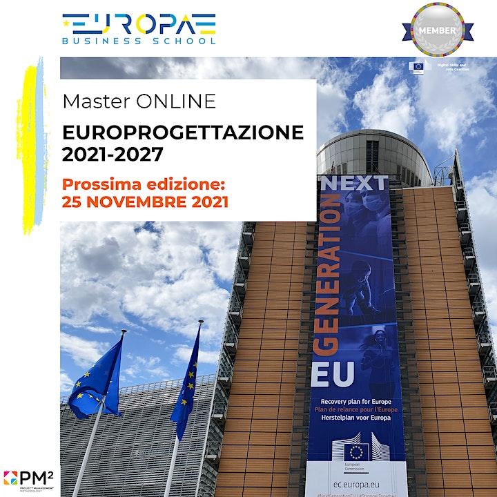 Master Europrogettazione 2021-2027  @ROMA [In AULA-Lingua ITALIANA] image