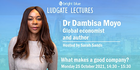 Ludgate Lectures with Dr Dambisa Moyo tickets
