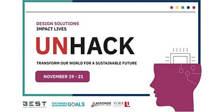 UNHack 2021 - Design Solutions - Impact Lives tickets