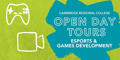Esports & Games Development Open Day Tours tickets