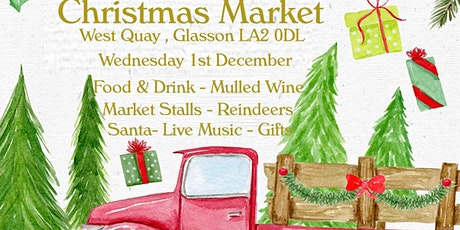 Christmas Artisan Food & Craft Market at Glasson Dock tickets