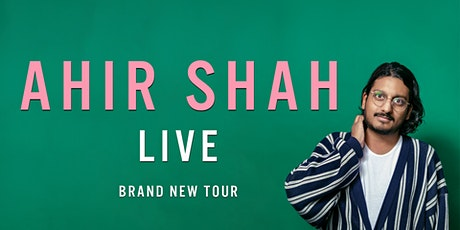 """Ahir Shah - """"Dress"""" A stand-up comedy work in progress tickets"""