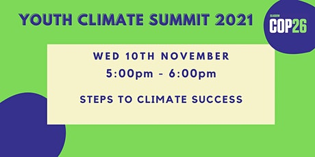Steps to Climate Success tickets