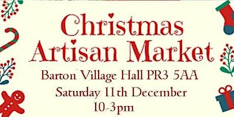 Christmas Artisan Food & Craft Market at Barton Village Hall tickets